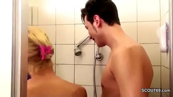 German MILF Seduce to Fuck by Step-Son Big Dick...