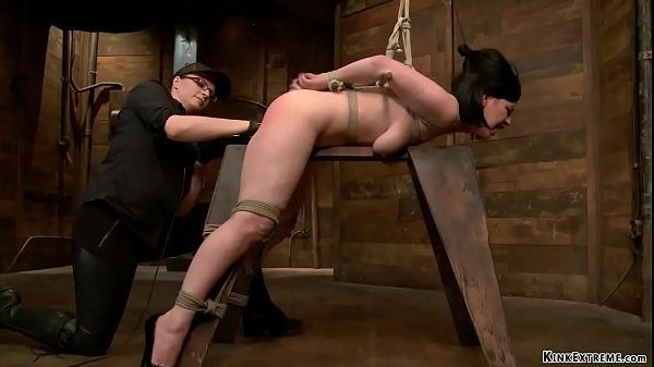 Sub bound over wooden horse fisted Thumb