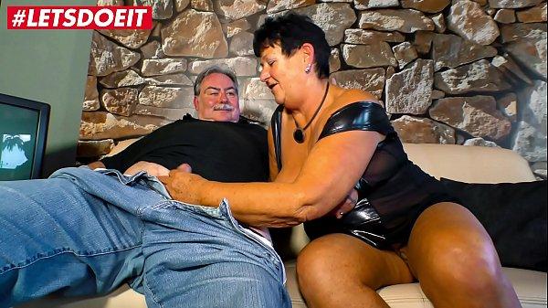 LETSDOEIT - Horny Mature German Couple Enjoys H...