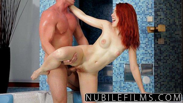 NubileFilms - Amarna Millers Intense Hot Tub Fuck