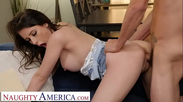 Naughty America - Charly Summer gets legally served as she serves Tyler's Cock