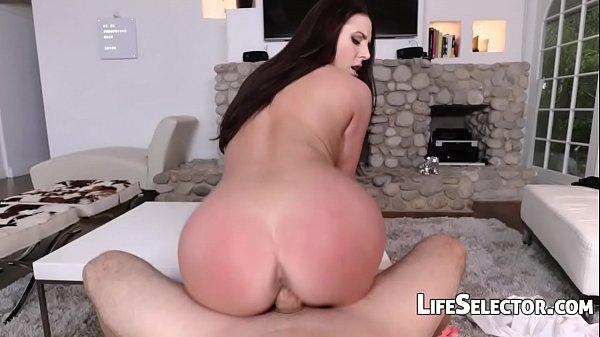 Busty MILF Angela White enjoys foot fetish with...