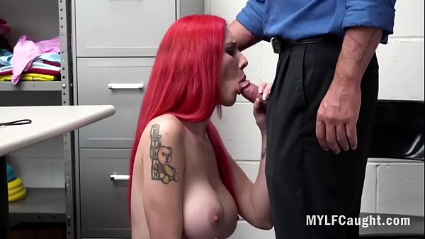 Redhead MILF Gets Her Cunt Fucked By Cop- Lilli...