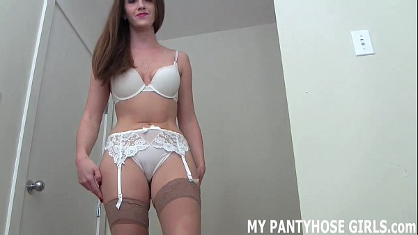 My silky soft pantyhose will get you nice and hard JOI