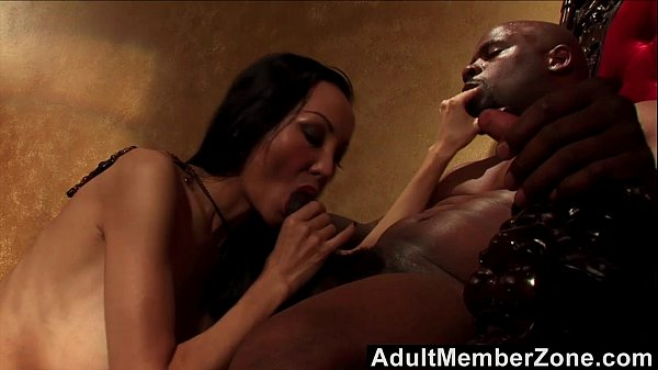 Asian Witch Ange Venus Charms Black Man And Fucks Him