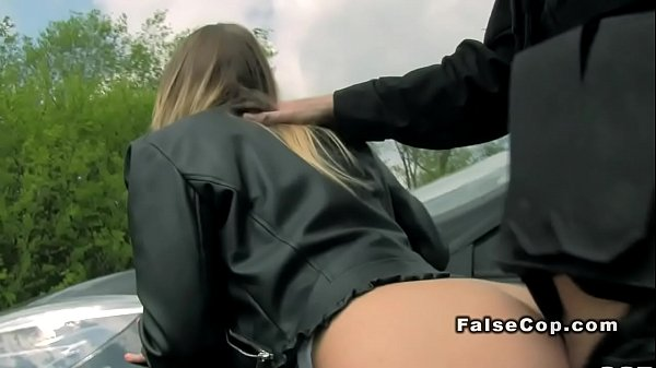 Fake cop in uniform bangs busty babe Thumb