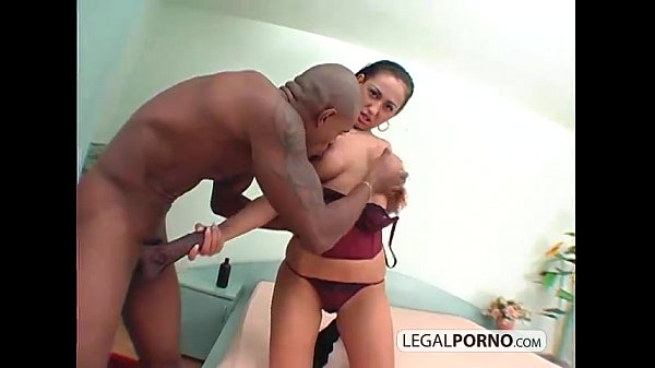 Brunette fucked with a big black cock BMP-2-04 2