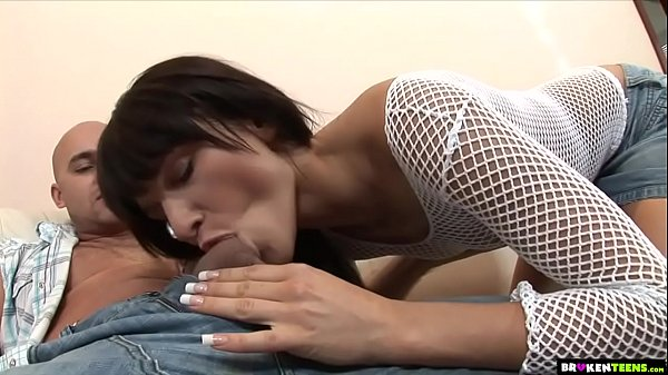 Tall Teen Gets A Huge Cock In Her Small Ass
