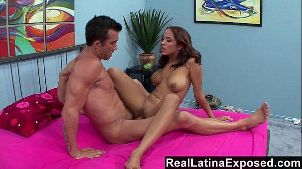 RealLatinaExposed - Mulani Rivera wants a big load on her big tits Thumb