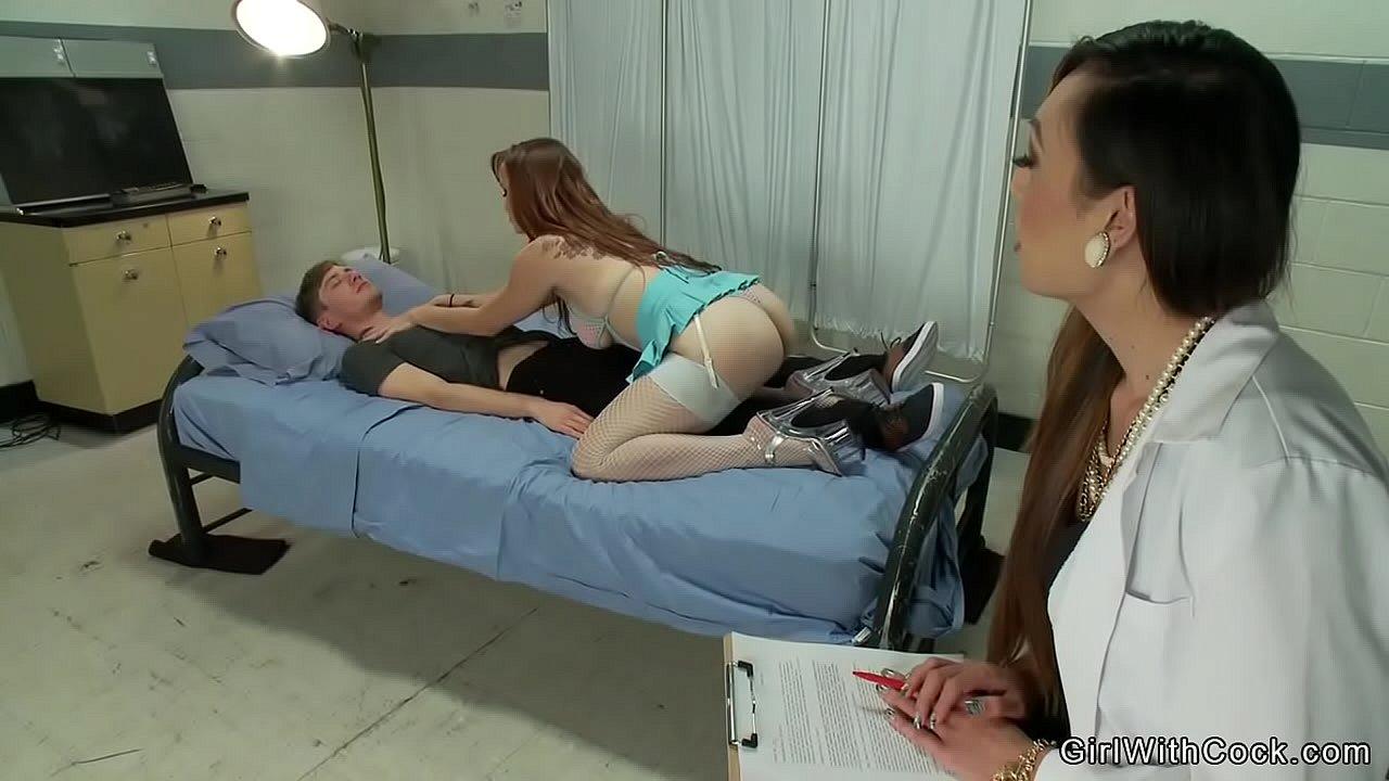 Japanese Nurse Seduces Patient