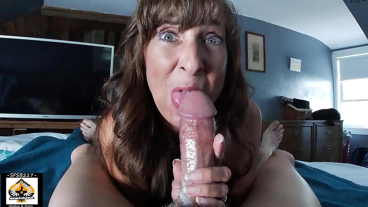 Mature Latina Swallows Cum