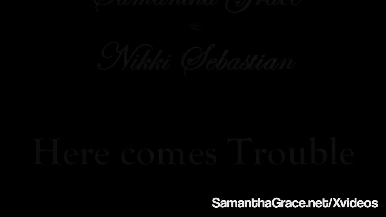 Dom Diva Samantha Grace Binds & Pleases Hot Nikki Sebastian!