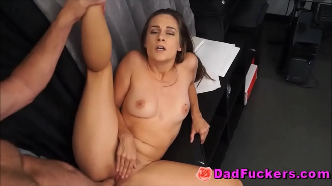 Step Dad Fucks Daughter Couch