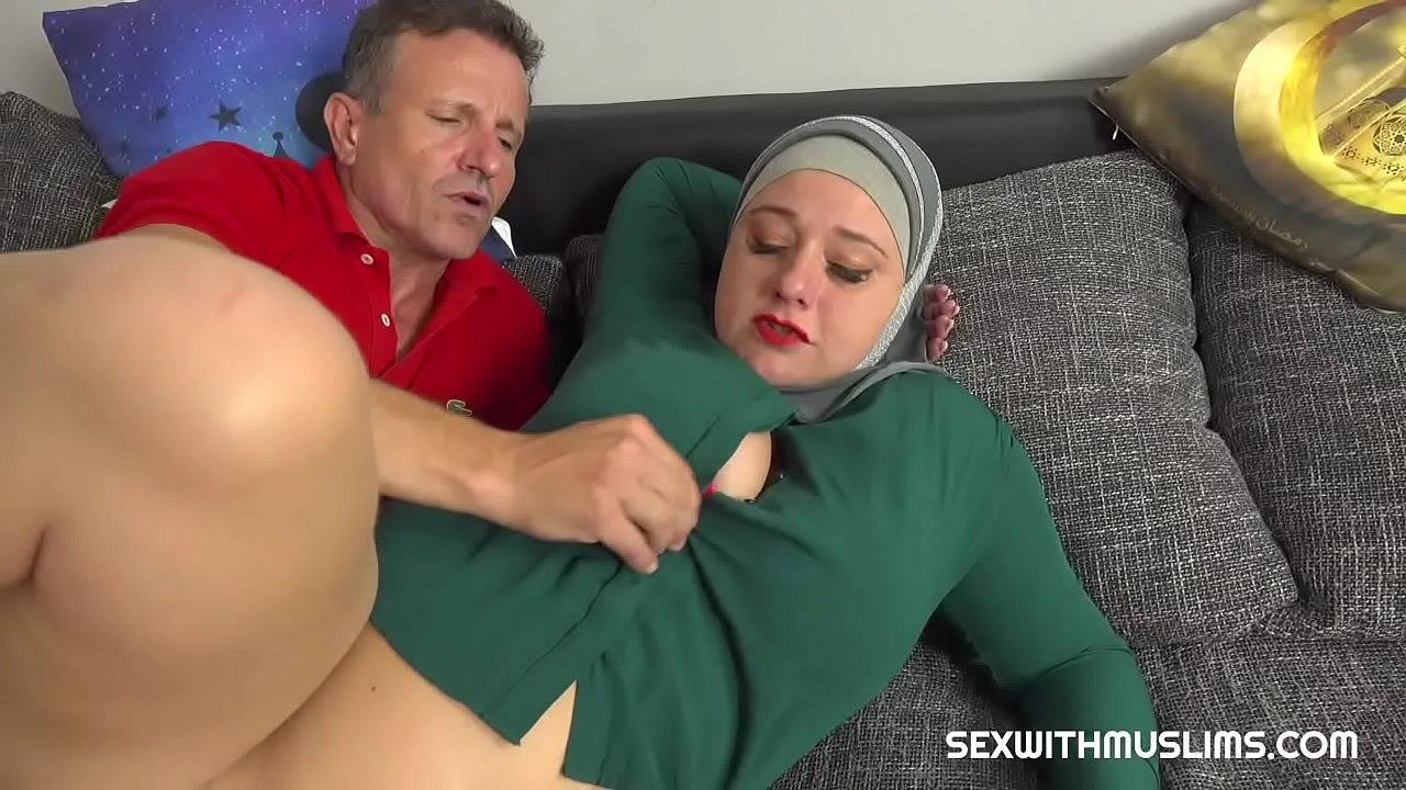 Muslim Wife Tries A Cock Cigarette  - 25