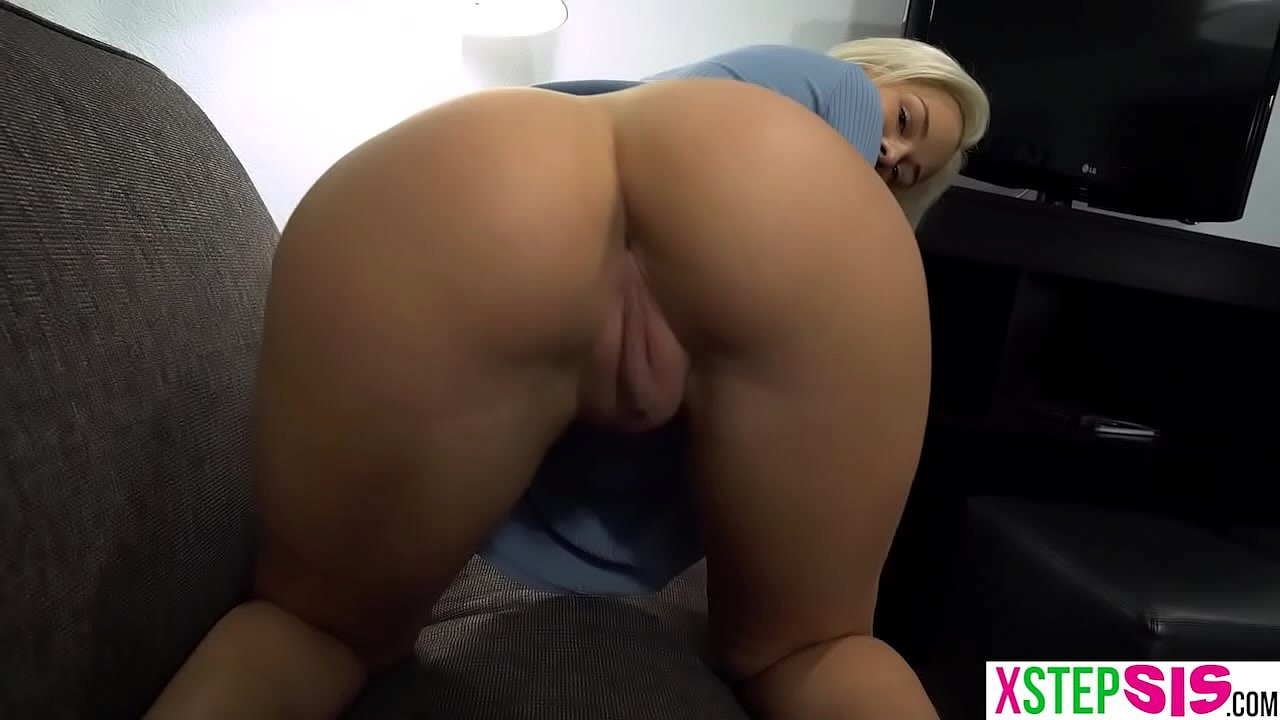 Thick Blonde Rides Dick