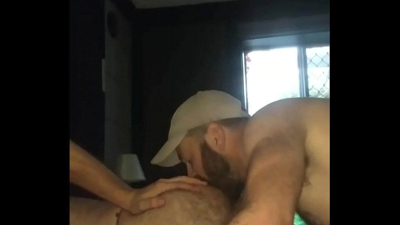 Eating Hairy Ass