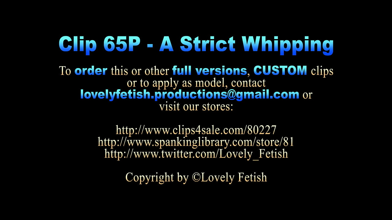 Clip 65P Pennys Whipping - MIX - Full Version Sale: $10  thumbnail