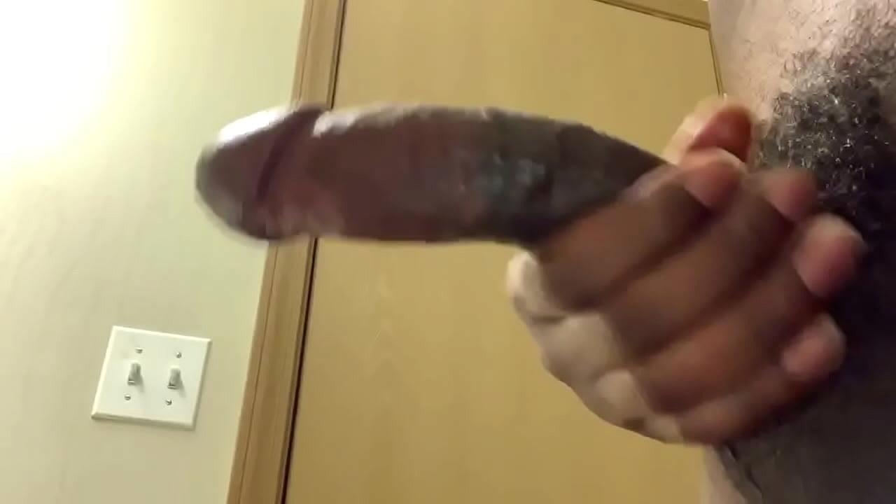 Jerking My Big Black Dick