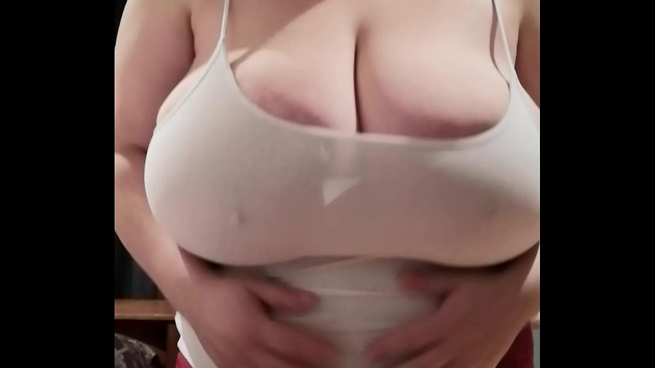 Skinny White Teen Big Tits