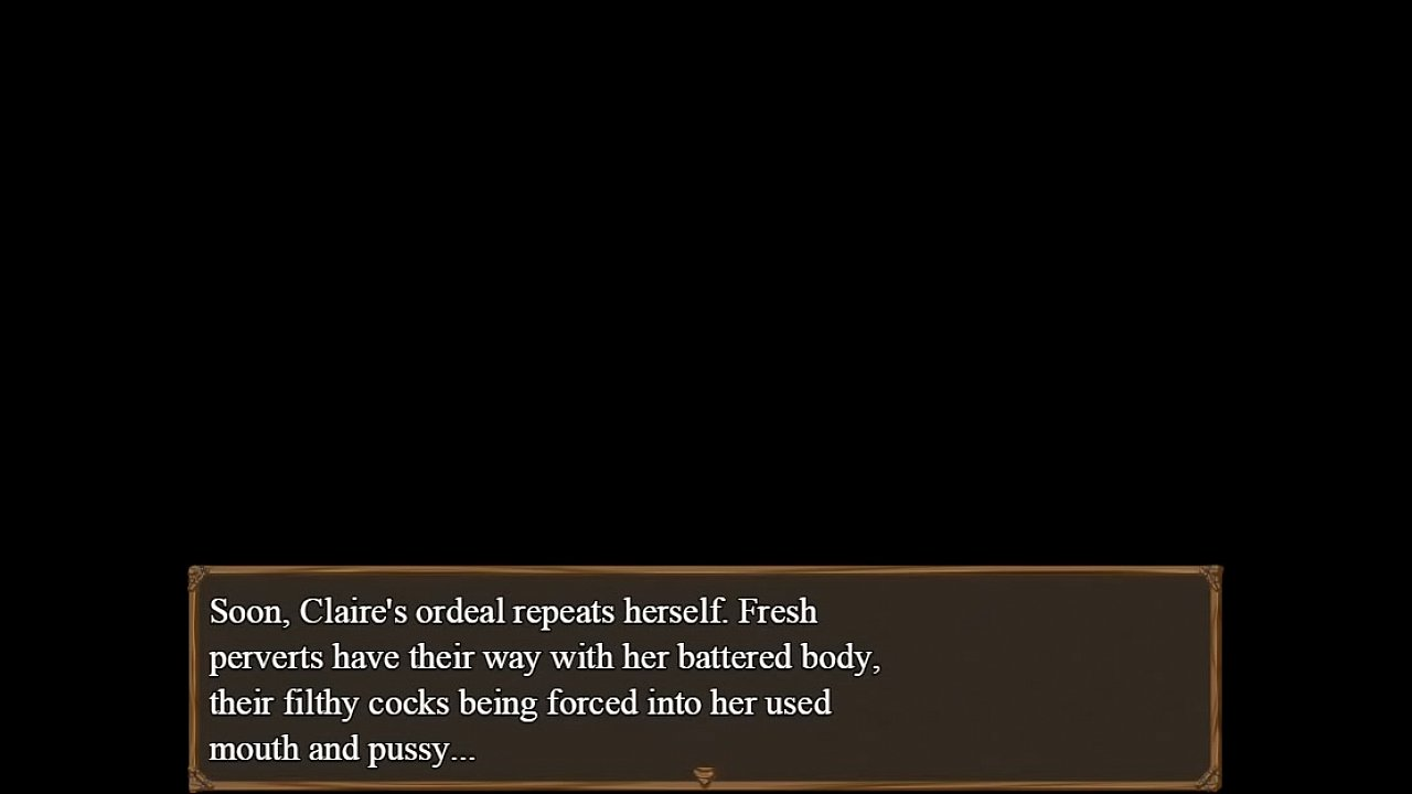 Claire's Quest Rehauled: Chapter 5 - Claire's Submission In The Brothel