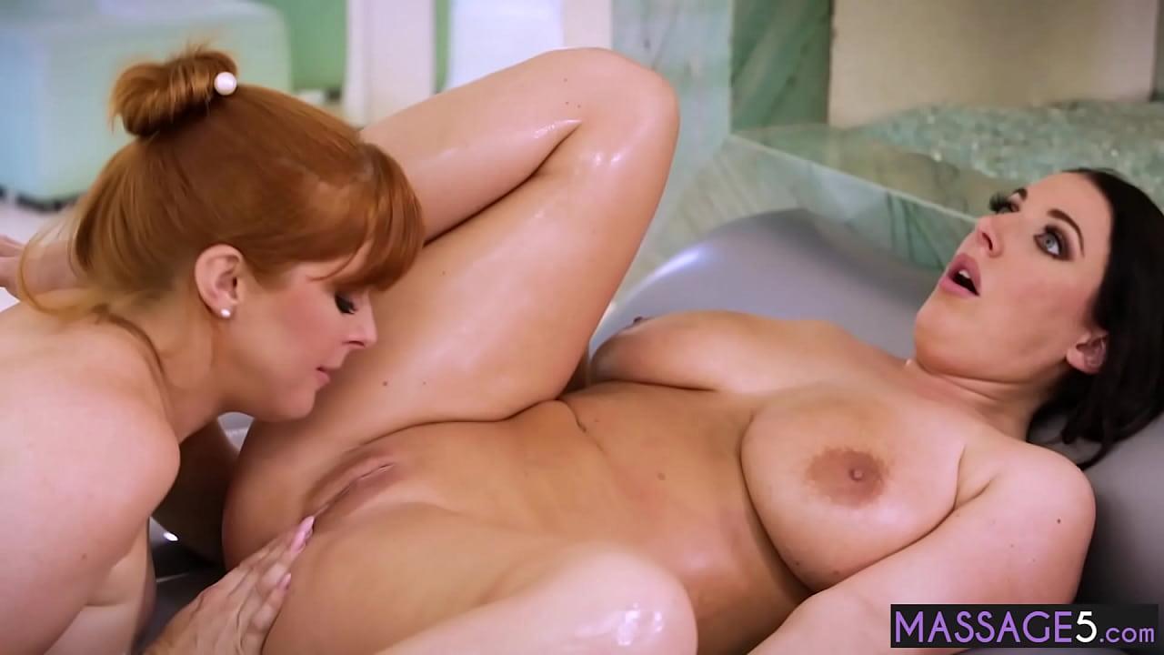 Lesbian Hidden Camera Massage