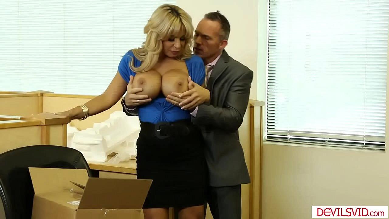 Boss Fucks Employee Office