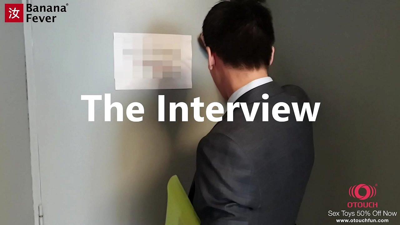Cute Brunette Seduce Fuck Her Asian Interviewer - BananaFever