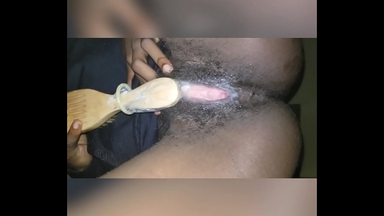 Ebony Pink Hair Blowjob