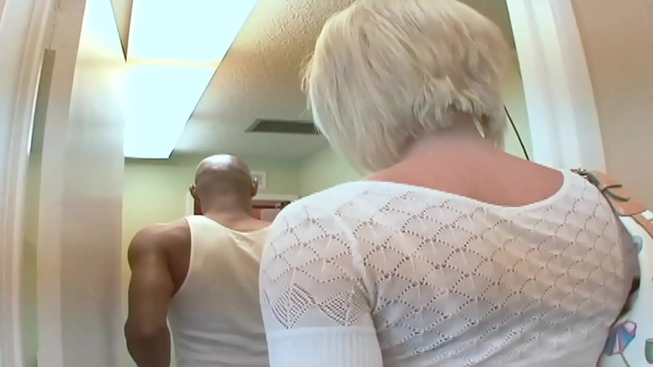 Big Tits Blonde MILF picks up the Big Cock Black Guy for a Reality BBC Porn
