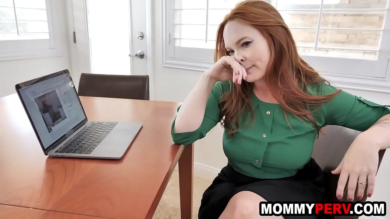 Milf Fucks Son While Dad