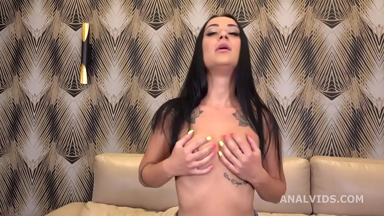 Anal Casting with Alisa Kovi Balls Deep Anal, Submissive sex, Gapes and Swallow GL242