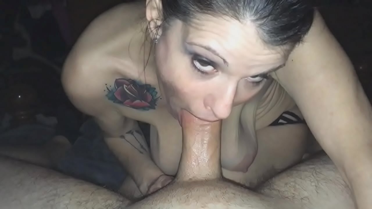 Young Saggy Tits Blowjob