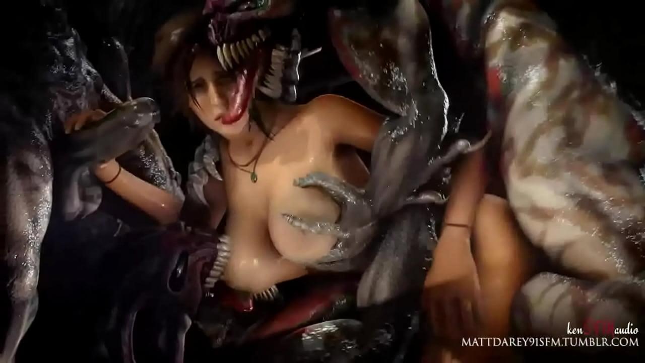 Lara Croft Hentai Monster