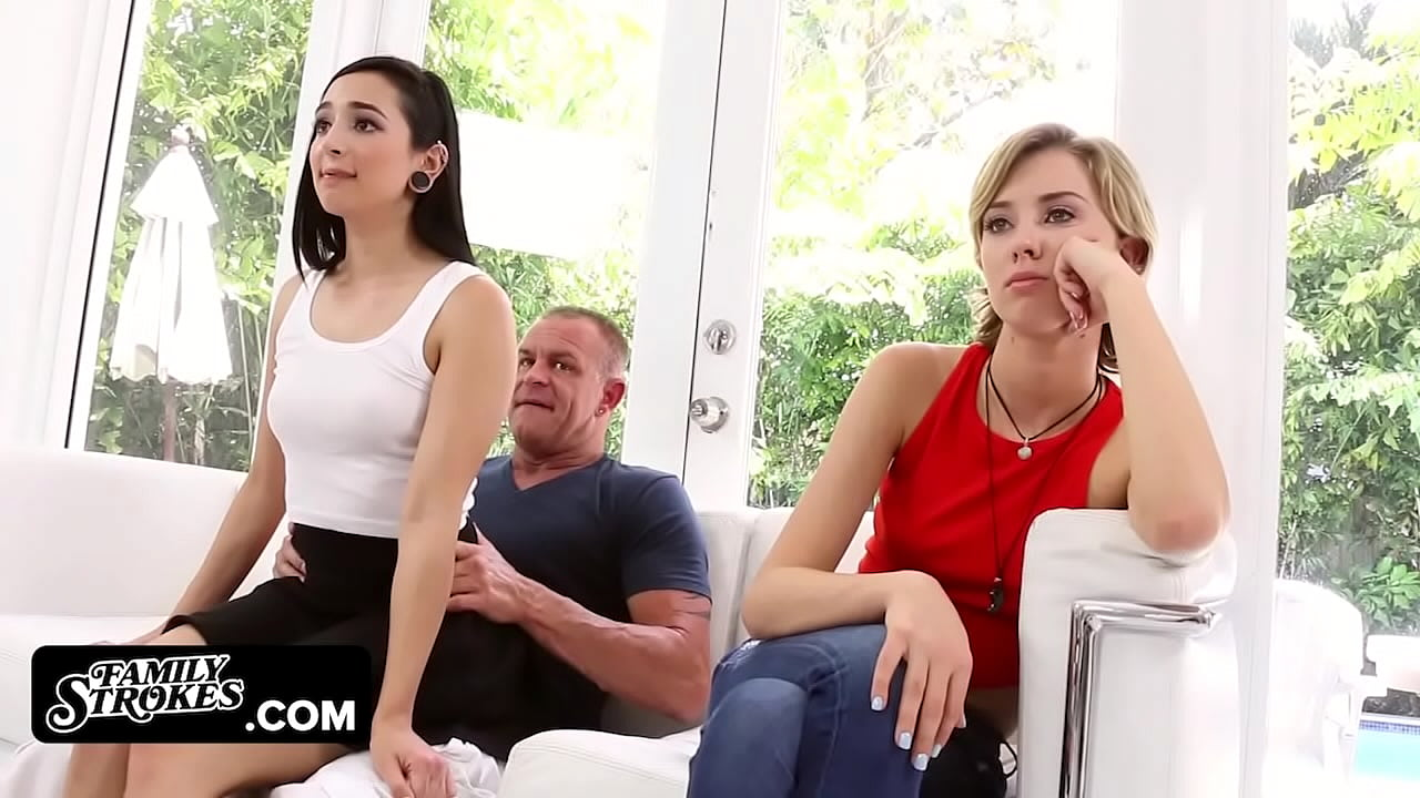 Step Daughter Teases Dad