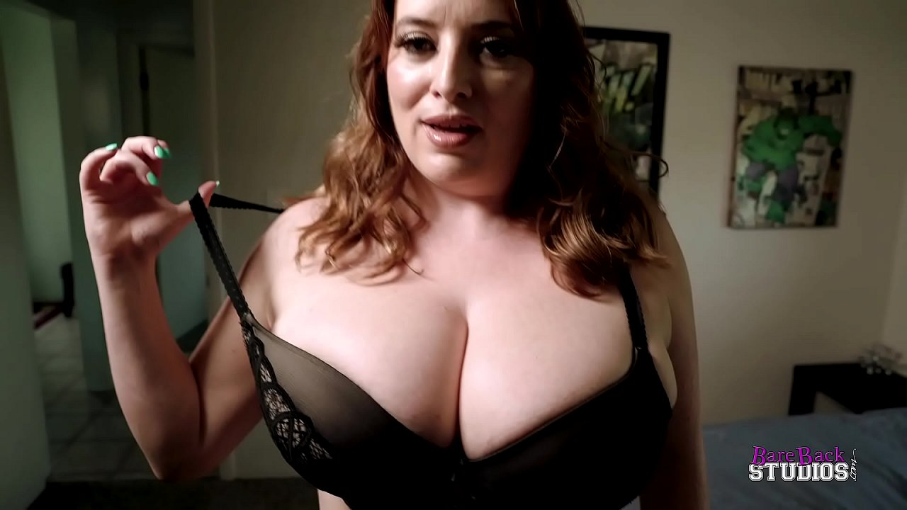Son Blackmails Big Tit Mom