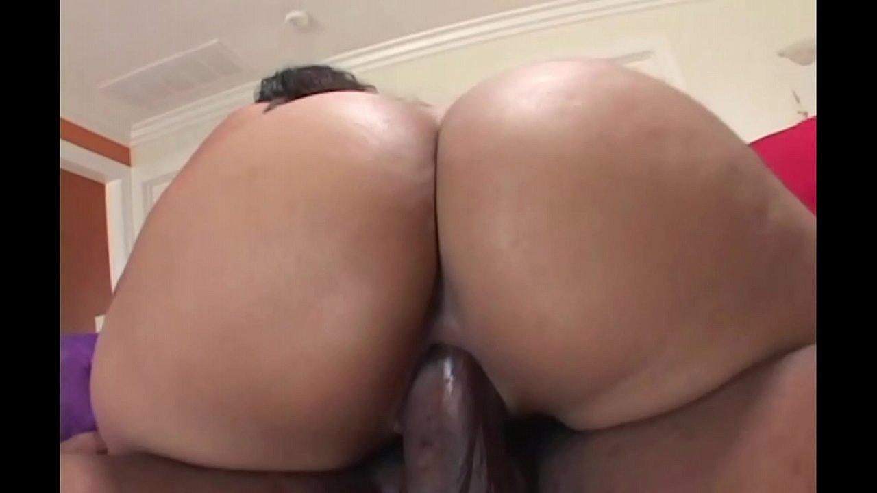 Ebony Big Booty Threesome