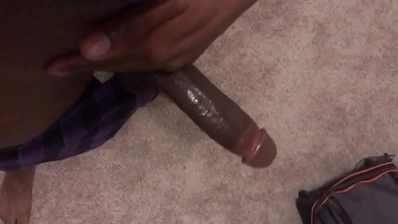 Big Black Dick Jerking Public