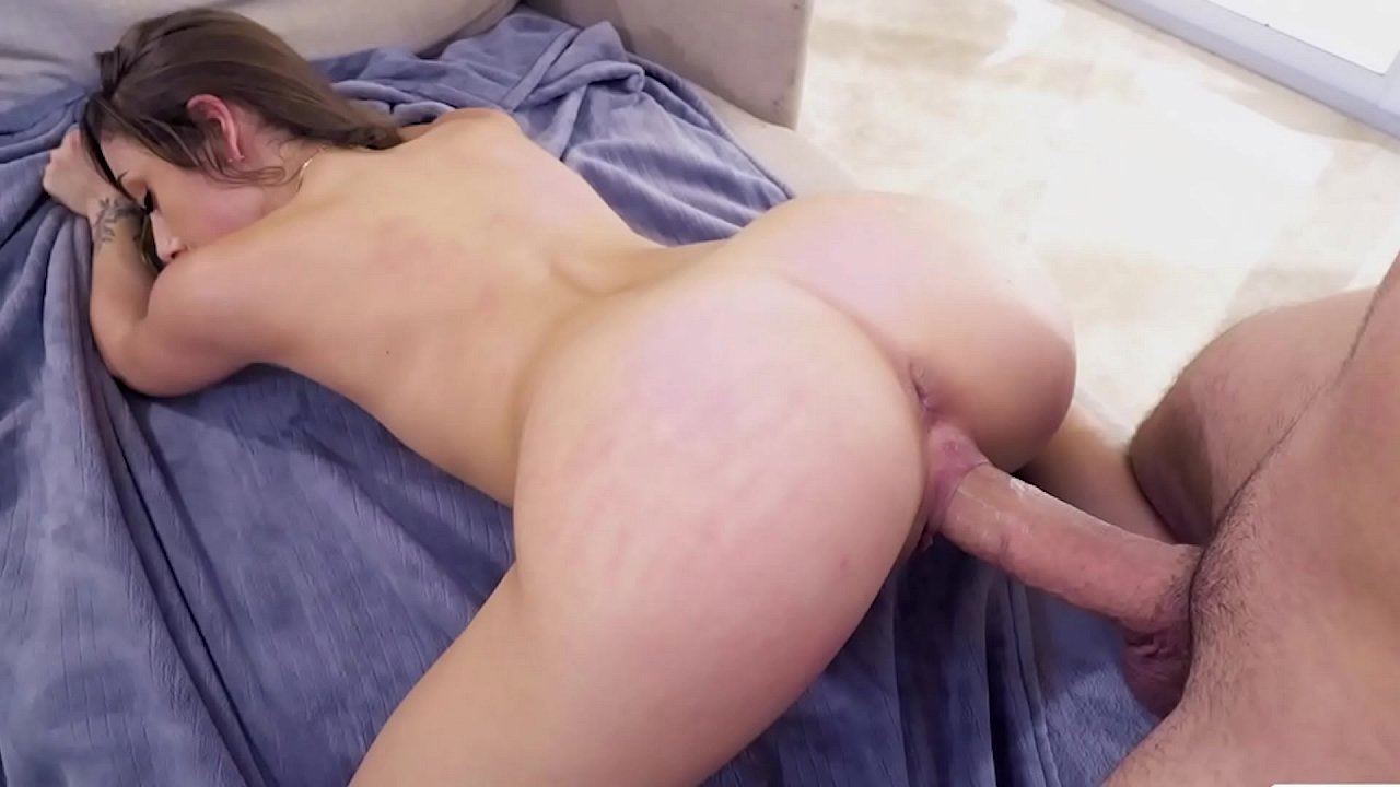 Step Son Fuck Mom While Stuck