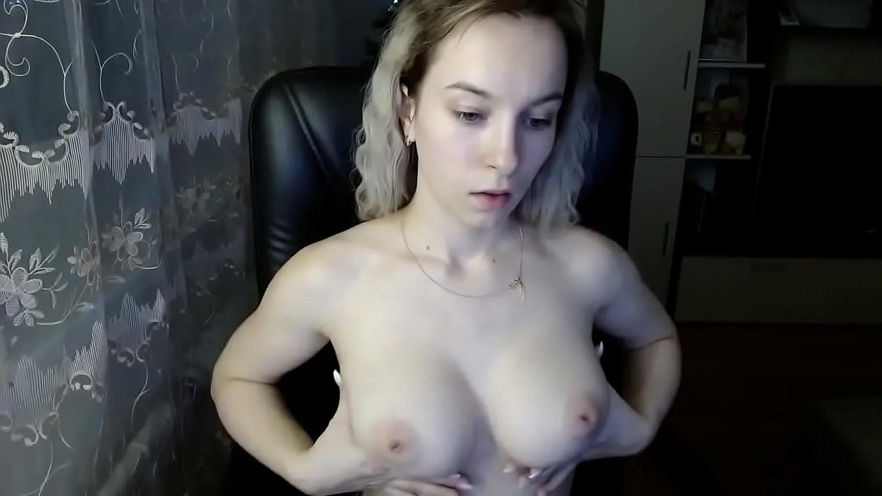 Sexy Blonde Teen Big Tits
