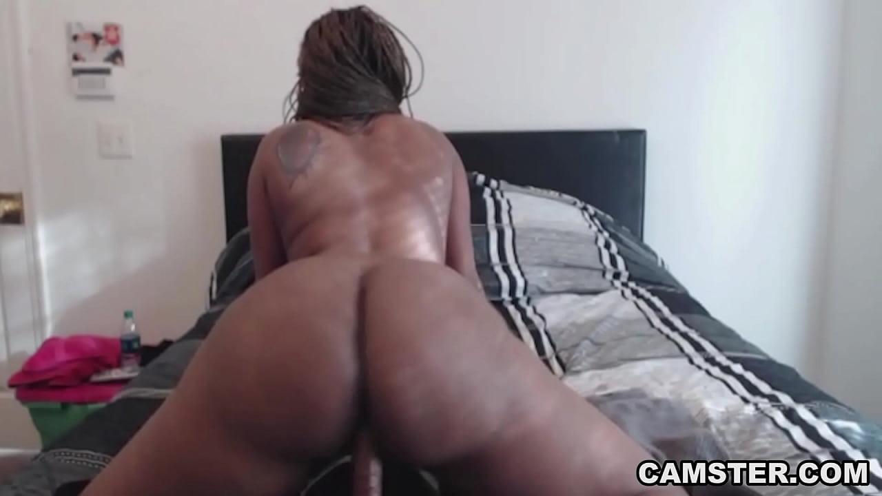 Black Girl Squirting Dildo