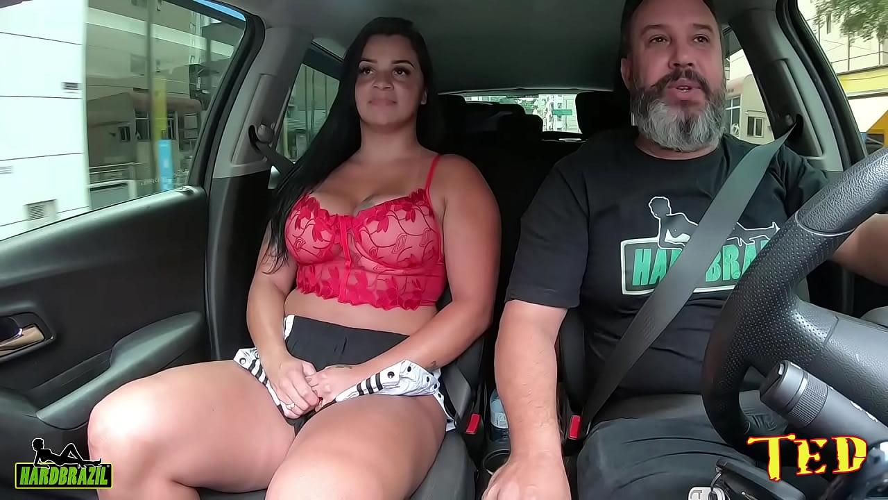 Cristine Castelary chega em São Paulo e vai ficar pelada nas ruas na carona do Ted #86 - Gih Rocha