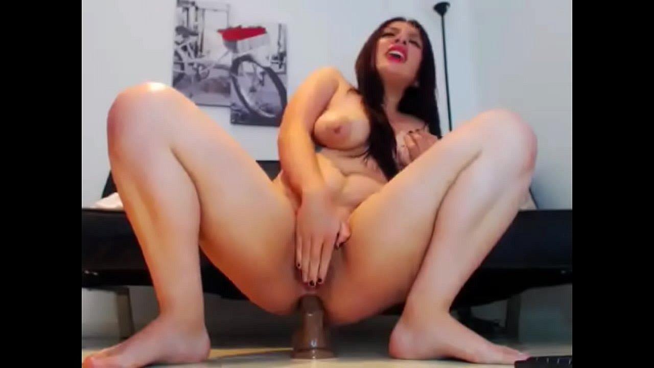 Big Tit Girls Riding Dildo