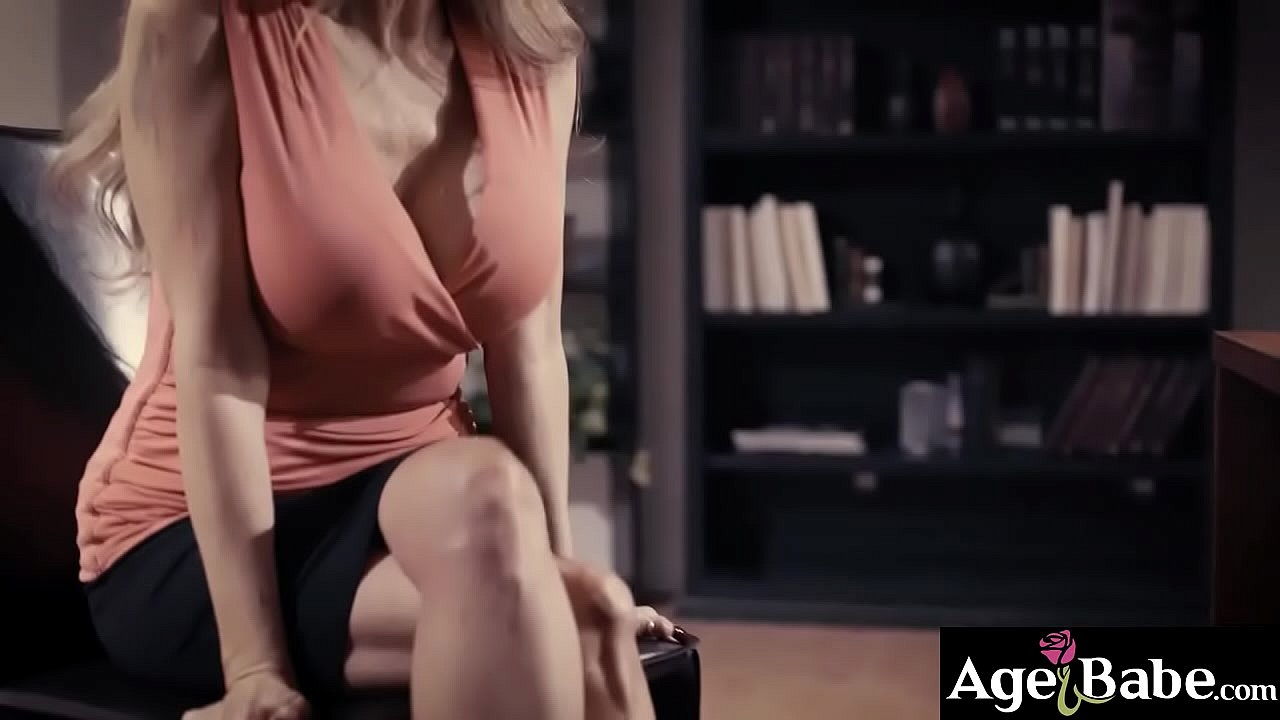 Darla Crane taking Seths massive cock inside her mature pussy and moans as she gets a hard banging