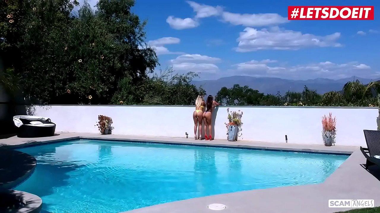 LETSDOEIT - Sexy MILF Ladies Are Having Sex With A Dirty Rich Guy (Madelyn Monroe & Abigail Mac)