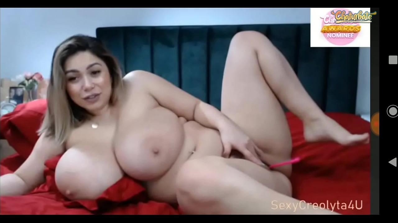 Huge Natural Tits Anal Dildo