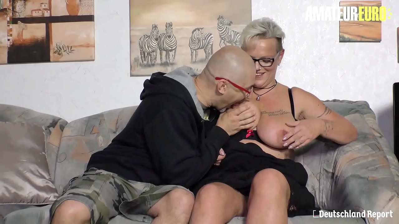 AMATEUR EURO - BBW Hot Mature Judith S. Gets Pussy Licked And Fucked On Cam By Random Guy That She Just Met
