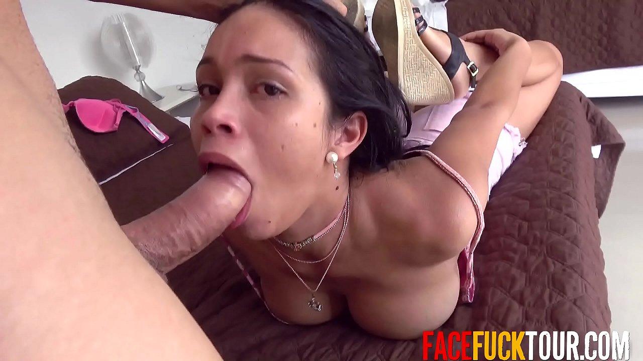 Latina Big Tits Threesome