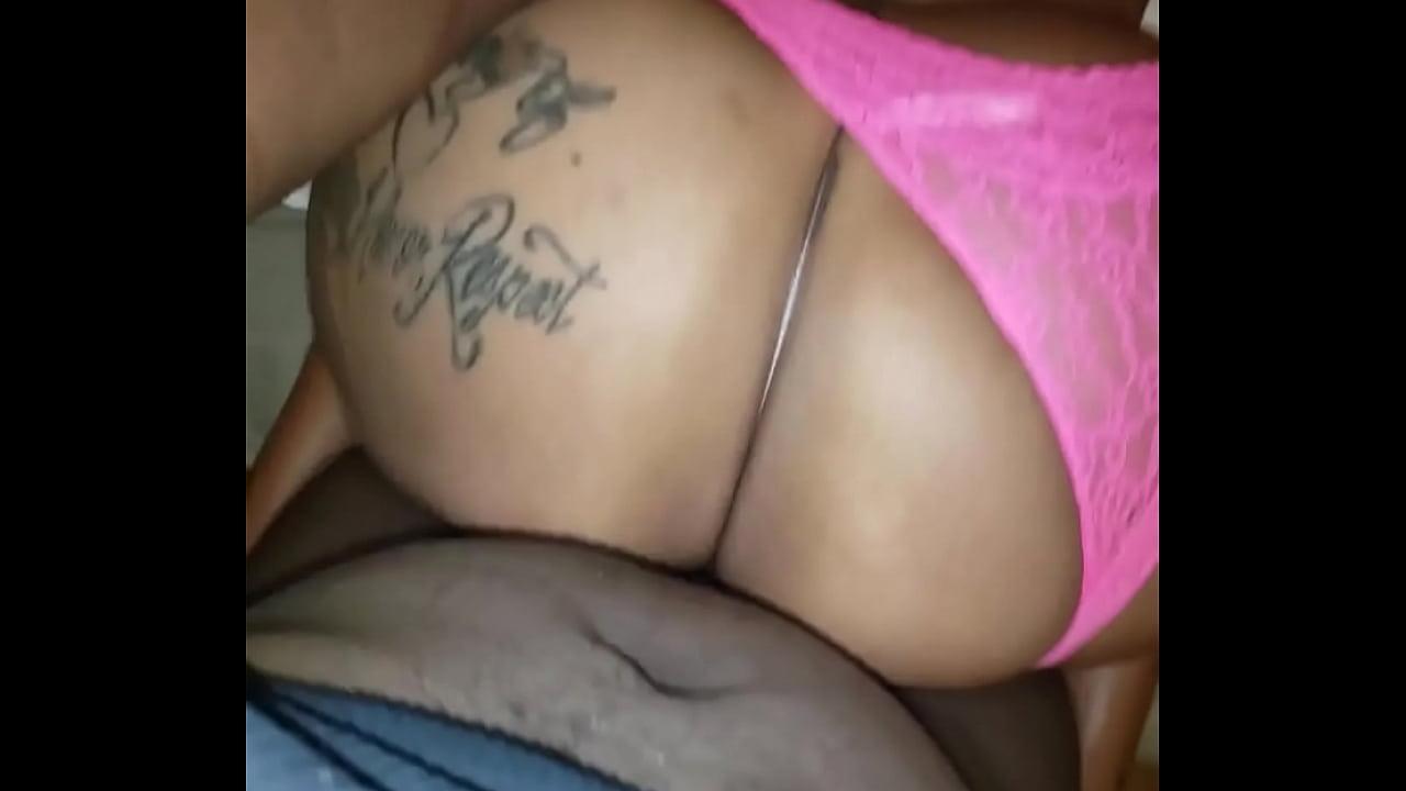 Big Booty Latina Screaming