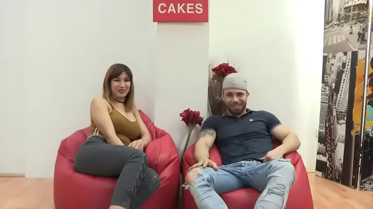 Ayesa First Dates Porno busty noelia and her husband film a porno for the first time