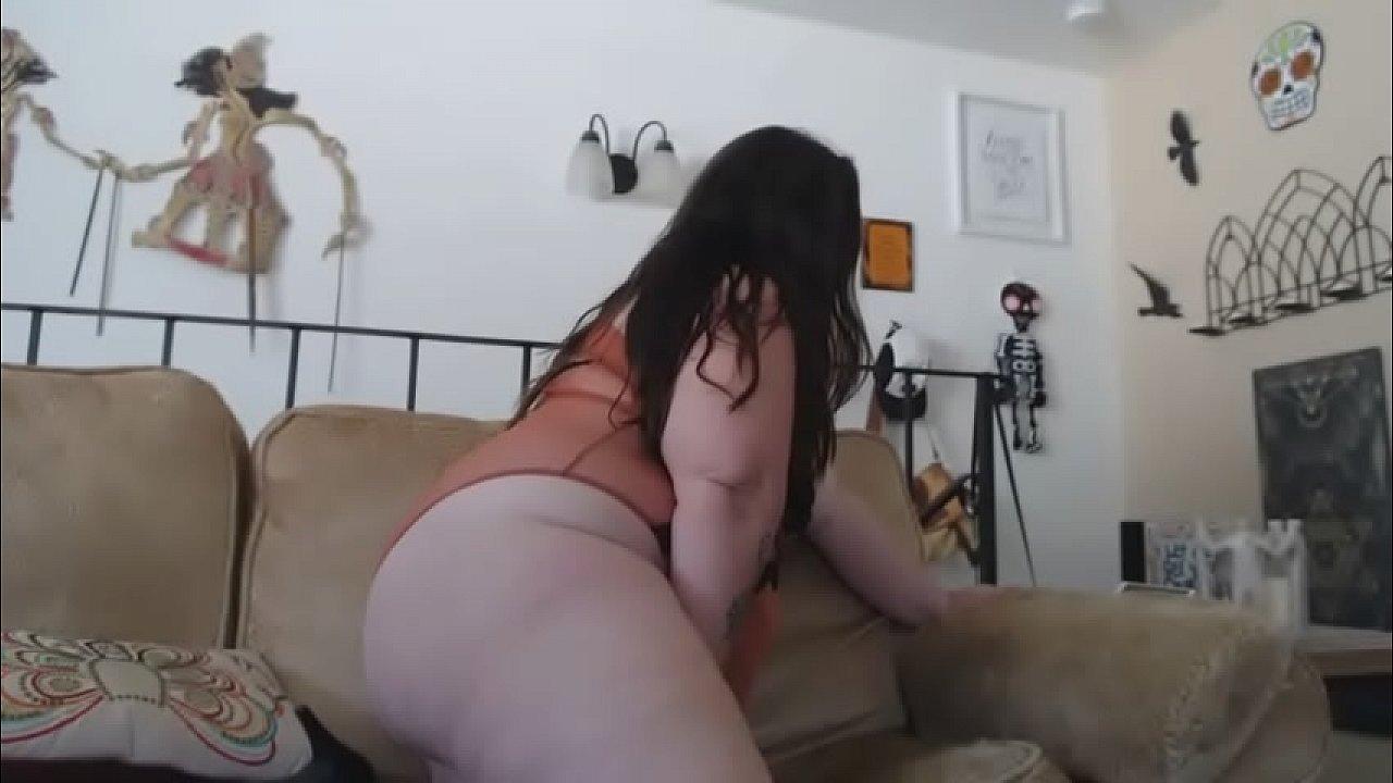 Bbw Home Alone Masturbating